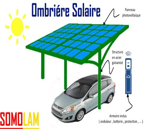 Ombriére Solaire